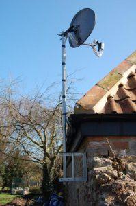 Tarnock Farm, Dish & Octo LNB Install